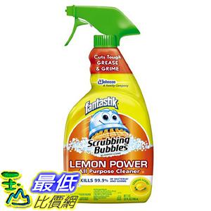 [美國直購] Fantastik B000BQSFZU Trigger, Lemon, 32 Ounce 抗菌 清潔劑