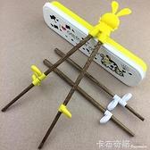 訓練筷吃飯學習筷實木左右手練習筷小孩筷子輔助預防器 聖誕節全館免運