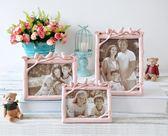 個性創意歐美式樹脂白色5寸6寸7寸8寸婚紗照相框擺台洗照片加相框【快速出貨】