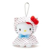 小禮堂 Hello Kitty 絨毛吊飾 (快樂雨天系列) 4550337-75714