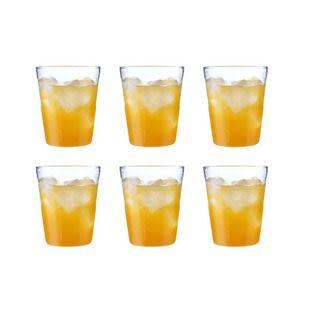 【a-liFe】玻璃條紋水杯-6入  (現貨)