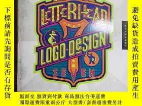 二手書博民逛書店Letterhead &罕見Logo Design 7 (LETTERHEAD AND LOGO DESIGN)