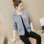 新款秋裝韓版寬鬆外套短款女春秋季刺繡棒球服休閒夾克上衣潮