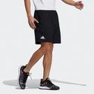 Adidas TS SHORT 男裝 短褲 網球 訓練 吸汗快乾 拉鍊口袋 黑【運動世界】H35940