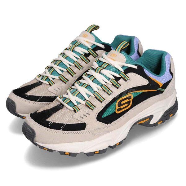 Skechers 休閒鞋 Stamina Cutback 灰 彩色 避震緩衝橡膠鞋底 Dad Shoes 男鞋 運動鞋【PUMP306】 51286WMLT