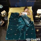 酒店隔臟睡袋大人出差雙人旅行神器住賓館水洗真絲床單被套便攜式 NMS生活樂事館