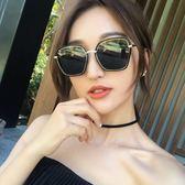 現貨-韓版ulzzang時尚百搭太陽眼鏡 新款時尚多邊形墨鏡 歐美潮流太陽眼鏡復古炫彩墨鏡 207