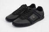 LACOSTE 男鞋 黑色 MENERVA 118 1 CAM 皮革 - 鞋款( 35CAM0078-02H) 18A