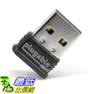 [8美國直購] (可以同步接7個周邊) Plugable USB Bluetooth 4.0 Low Energy Micro Adapter Compatible