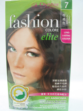 華世~歐絲特植物性染髮劑7號(棕褐色)Medium Blond