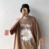T恤男大碼半袖夏季上衣韓版短袖寬松【橘社小鎮】