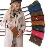 手機袋1/2princess品牌簡約風格手機包護照包  -8色[A0024]
