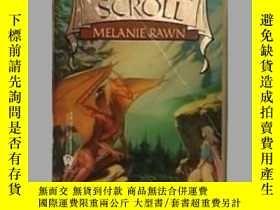 二手書博民逛書店英文原版罕見The Star Scroll by Melanie