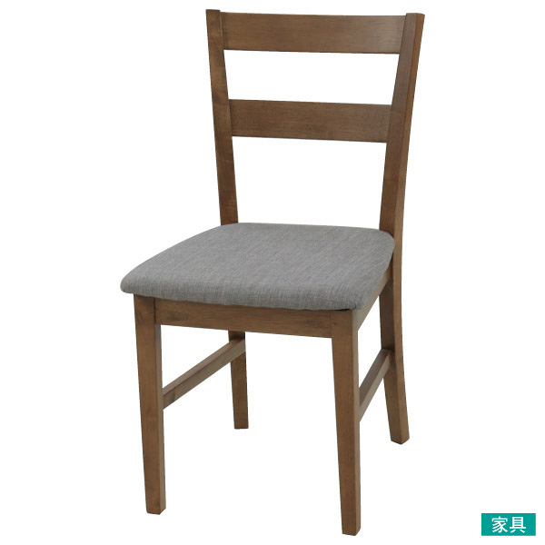 ◎實木餐椅 SOLID2 FABRIC MBR NITORI宜得利家居