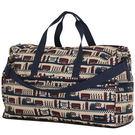 HAPI+TAS 摺疊大旅行袋 - 米色倫敦風情