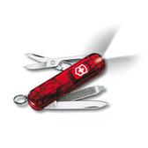 瑞士 維氏  Victorinox 7用 LED燈 瑞士刀 透明握柄系列 0.6228.T『透明紅』 露營│登山
