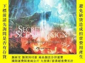 二手書博民逛書店Secrets罕見of Scene Designers :Rul