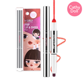 CATHYDOLL時尚韓風-玩美妝容唇頰兩用筆 #02-寶貝粉  0.5+1.1g