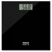 SANLUX 台灣三洋 數位體重計 SYES-301 黑色 [富廉網]