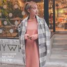 MUMU【O60093】下擺開岔溫暖針織洋裝。兩色
