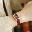EAVANLIN/依文琳新款女錶復古女款簡約皮帶女士手錶ins風手錶女