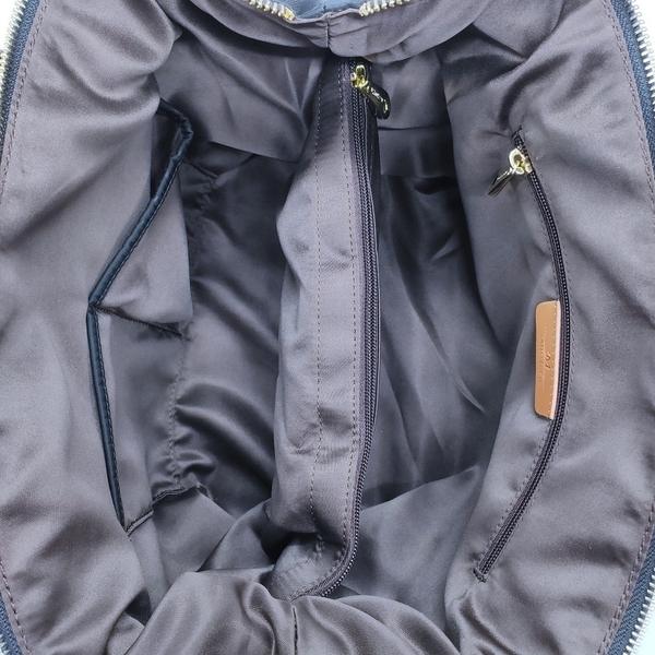 【Misstery】側肩包圓點圖案斜背/側肩背包-黑(防潑水面料搭配頂級植鞣革)A88-115PBK