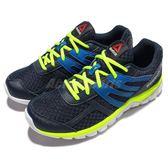 Reebok 慢跑鞋 Sublite XT Cushion 藍 黃 白 運動 跑步 大童鞋 女鞋【PUMP306】 V72286