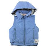 【愛的世界】防風鋪棉連帽背心/2~4歲-中國製- ★秋冬上著