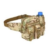 新品腰包戶外多功能軍迷戰術腰包旅行工具水壺挎包騎行垂釣男女路亞小胸包
