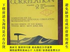 二手書博民逛書店【2635罕見GEOLOGICAL CORRELATION197