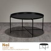大茶几 圓几 咖啡桌 矮桌 邊桌 簡約北歐風 鐵製工藝【BOPTB】品歐家具