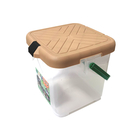 【台灣製 月光寶盒RV多功能桶《奶茶色》】P888K/可承重/置物桶/洗車桶/收納桶/萬用桶