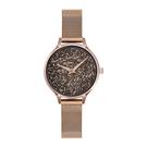 OBAKU 閃耀星空美學時尚腕錶-玫瑰金