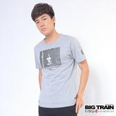 Big Train 條碼文字潮流T-男-麻灰-Z8011083(領劵再折)