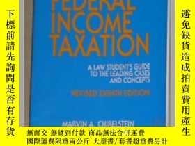 二手書博民逛書店英文原版罕見Federal Income Tax by Mart