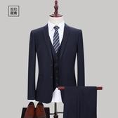西裝套裝 西裝外套青年西服男士職業上衣單西韓版修身商務正裝小西裝套裝【快速出貨八折搶購】