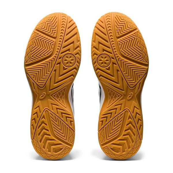 Asics Upcourt 4 [1072A055-100] 男女鞋 運動 休閒 排球 輕巧 支撐 透氣 抓地力 白 黑
