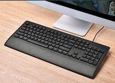 有線鍵盤電腦家用游戲辦公巧克力台式 筆記本手托igo     易家樂