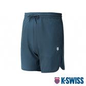K-SWISS PF Woven Short W/Mesh運動短褲-男-藍