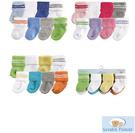 [Mamae] (8雙/組)美國 Luvable Friends 素色0-6M初生嬰兒必備套裝組 棉質寶寶襪子 出生嬰兒幼兒禮盒 襪子