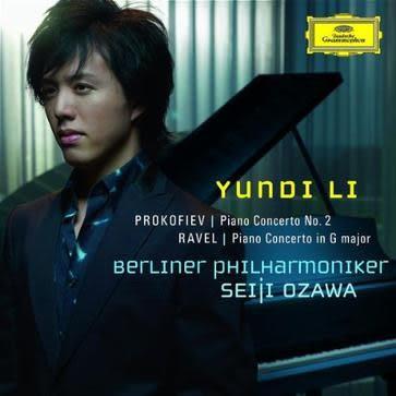 李雲迪 普羅高菲夫 拉威爾:鋼琴協奏曲 CD (音樂影片購)