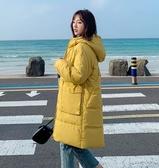羽絨外套 女士羽絨棉衣棉襖 新款棉服女冬季厚外套中長款韓版寬鬆 小天後