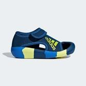 J-adidas ALTAVENTURE I 小童 運動 休閒 快乾 涼鞋 雨鞋 水鞋 魔鬼氈 藍黃 D97199