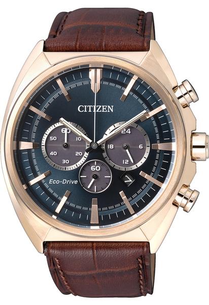 【刷卡分期零利率】CITIZEN光動能時尚男錶CA4283-04L 10氣壓防水 42.9mm 台灣星辰公司保固兩年