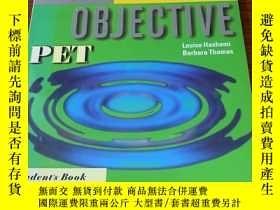 二手書博民逛書店Objective罕見PET Student s BookY367421 Hashemite. Louise