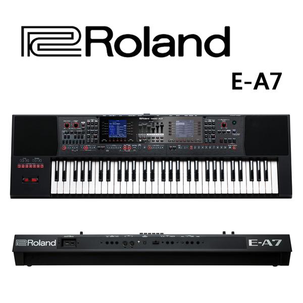 ★Roland★E-A7 61鍵 力度感應 Expandable Arranger可擴充自動伴奏鍵盤
