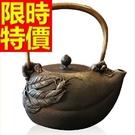 日本鐵壺-送禮品茗南部鐵器回甘茶壺63f...