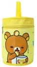 Rilakkuma 拉拉熊 圓筒便當袋 黃 RKB11091B