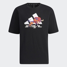 Adidas CNY 男裝 短袖 T恤 休閒 農曆新年 牛年 棉質 黑【運動世界】GQ0888