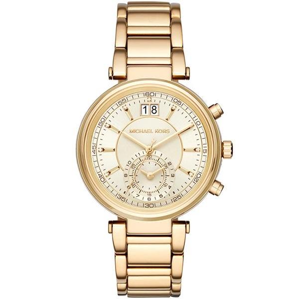 【台南 時代鐘錶 Michael Kors】MK6362 古典美學氣質腕錶 香檳金 39mm 公司貨 開發票